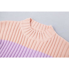 Load image into Gallery viewer, Buy Candy Lazy Oaf - Roll Neck Knitted Jumper In Rainbow Stripe Jumpers online, best prices, buy now online at www.GrabThisNow.co