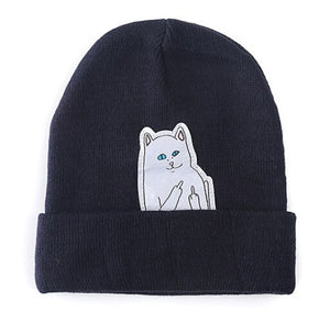 Buy Crude Kitty - Beanies Skullies Hats online, best prices, buy now online at www.GrabThisNow.co