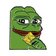 Load image into Gallery viewer, Buy Pepe Bad - Meme Clothing Pins Pins online, best prices, buy now online at www.GrabThisNow.co