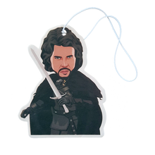 Load image into Gallery viewer, Buy Jon Snow - Car Air Freshener (Game of Thrones GOT) Accessories online, best prices, buy now online at www.GrabThisNow.co