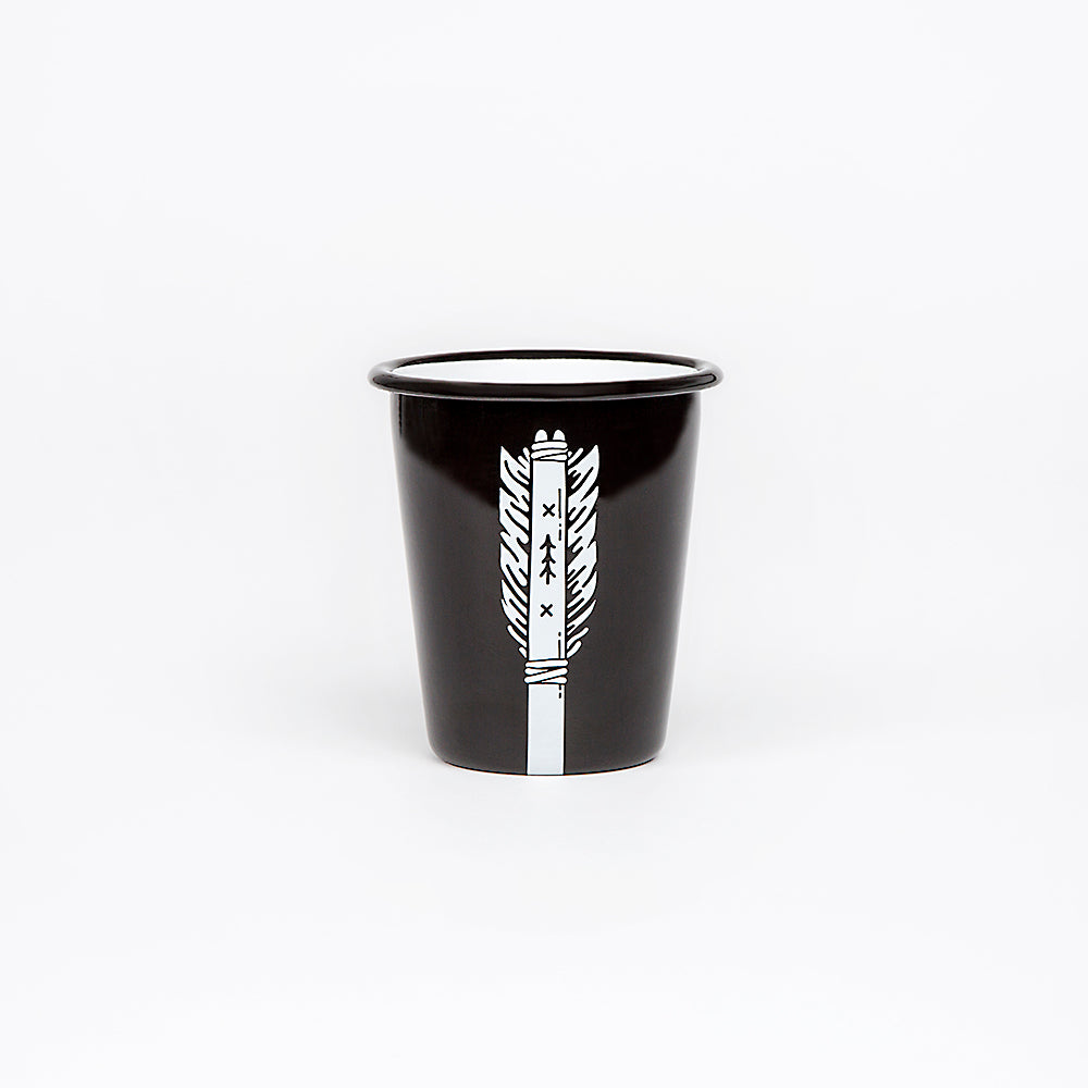 2 ENAMEL TUMBLERS | ARROW