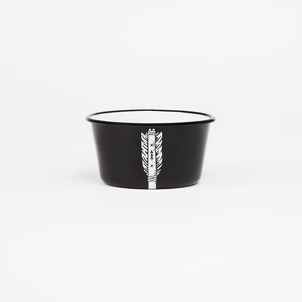 CONICAL ENAMEL BOWL | ARROW