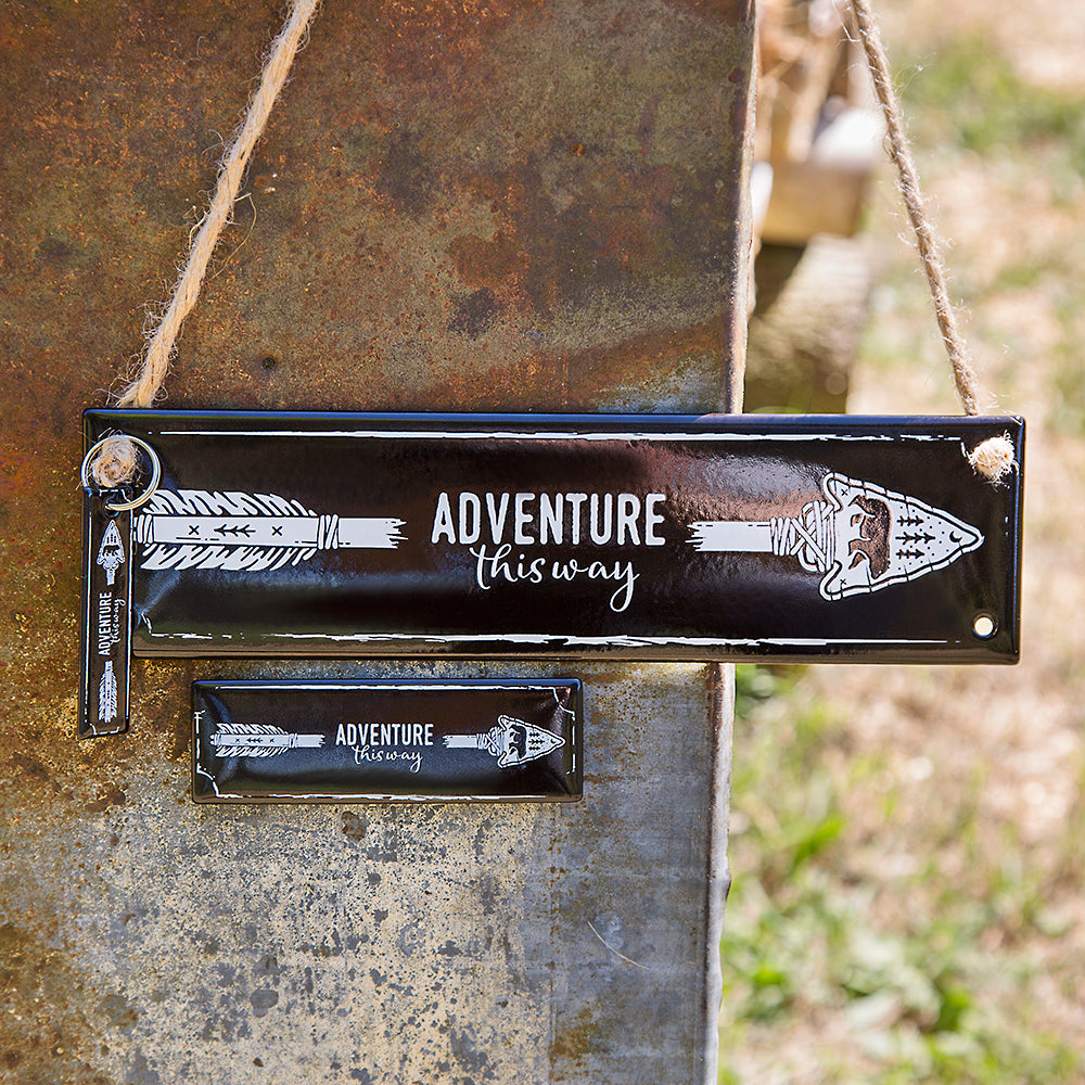 ENAMEL RECAPTURE SET MAGNET, SIGN, KEYRING | ARROW