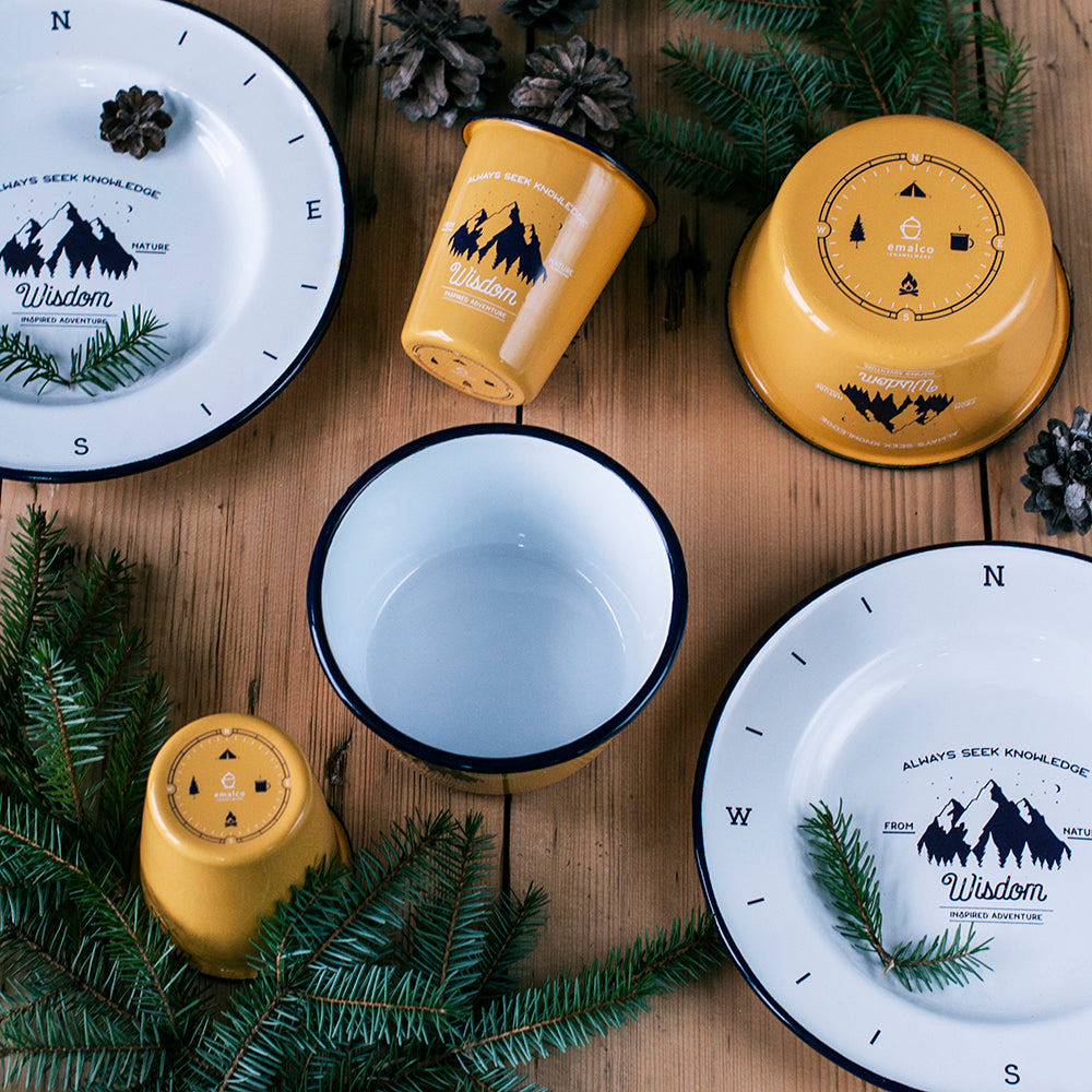 MOUNTAIN DATE ENAMEL SET | WISDOM