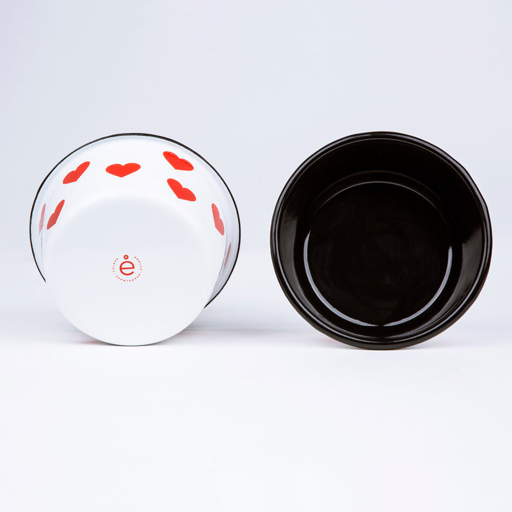 CONICAL ENAMEL BOWL | LOVE