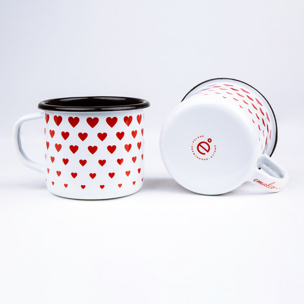 ENAMEL COFFEE MUG | LOVE