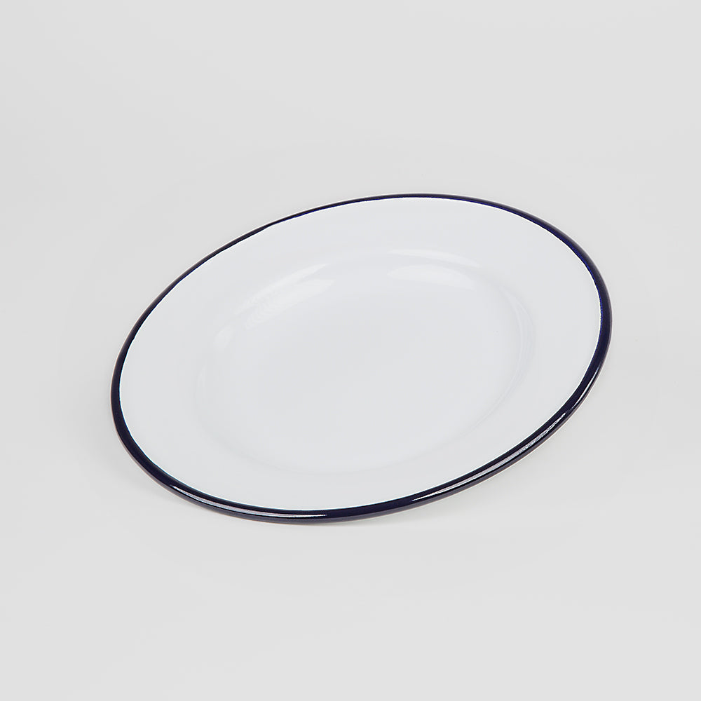 ENAMEL DINNER PLATE | PLAIN