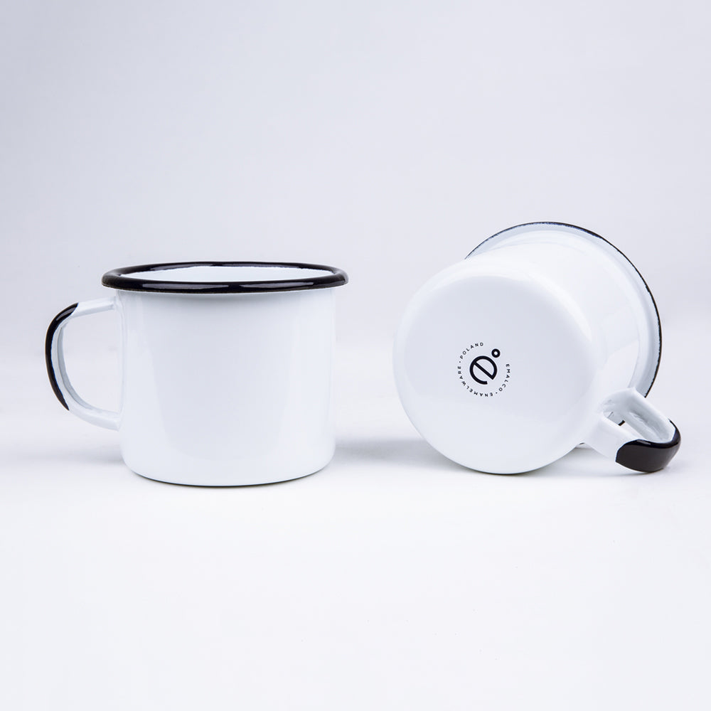 ENAMEL COFFEE MUG | PLAIN