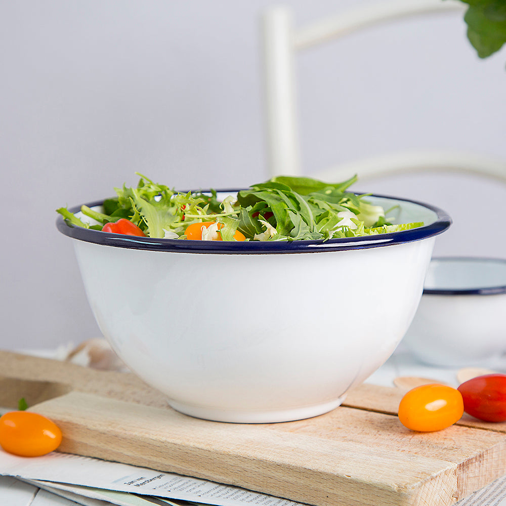 ENAMEL MIXING BOWL | PLAIN