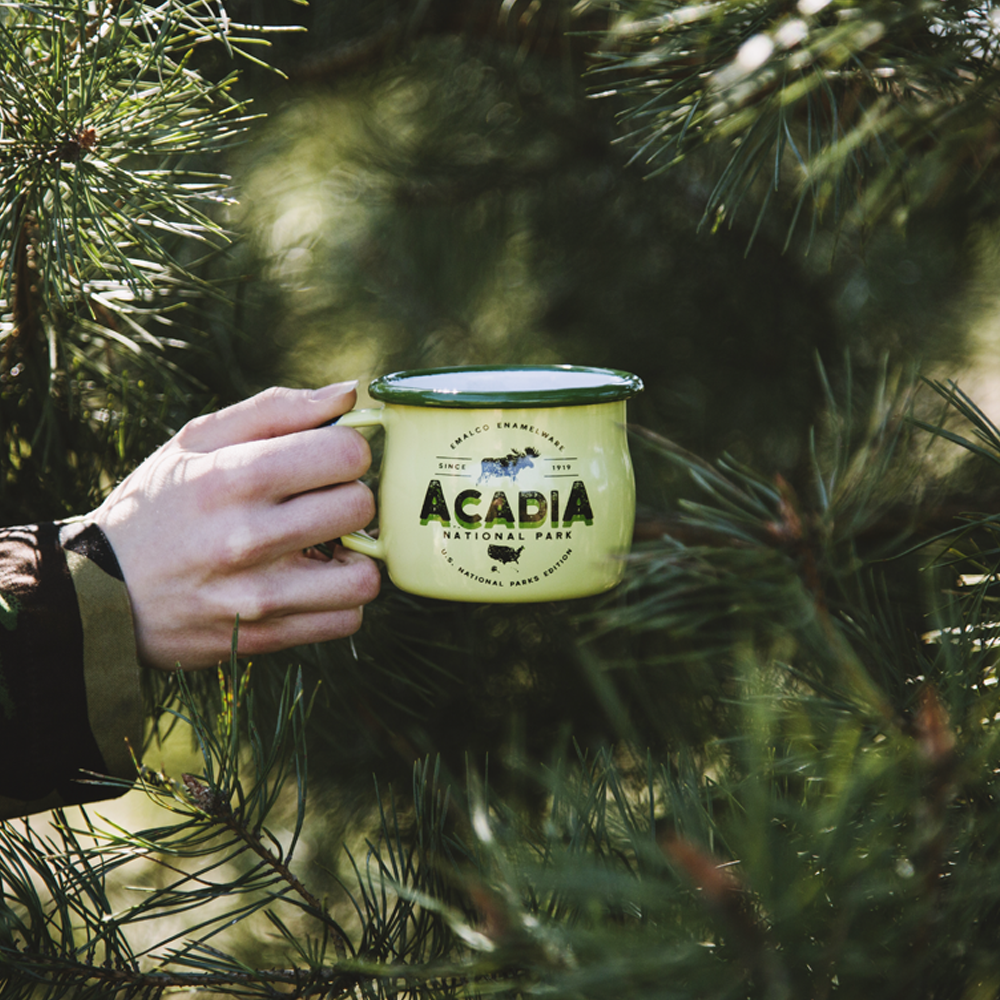 ACADIA ENAMEL COFFEE MUG | U.S. NATIONAL PARKS