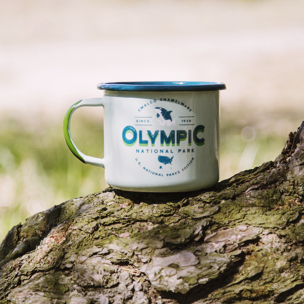 OUTLET - 22 oz / 650 ml enamel mugs. Variations.