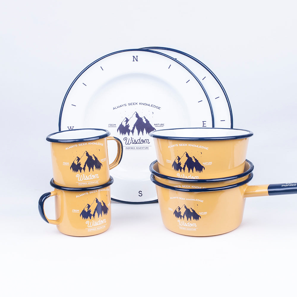 LONG WALK TREAT ENAMEL SET | WISDOM
