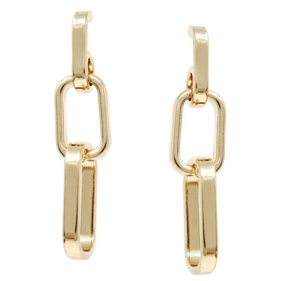 Kate Link Drop Earrings - The House of Hyacinth