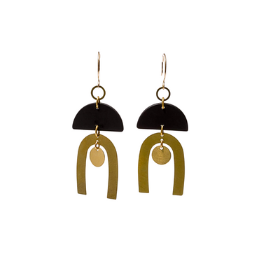 Geometric Funk Earrings