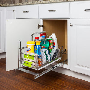 Pullout Cleaning Supply Caddy | SCPO2-R