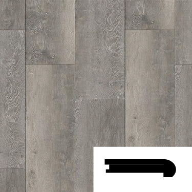 OAK MIRAGE FLUSH STAIRNOSE