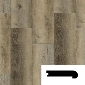 OAK HAZELWOOD FLUSH STAIRNOSE