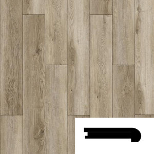 OAK WHEATON FLUSH STAIRNOSE