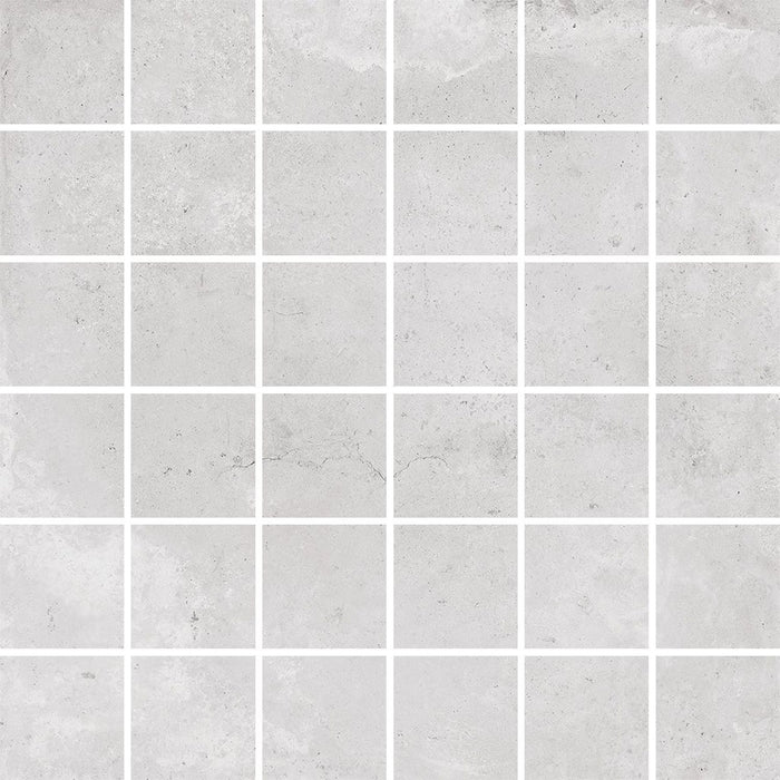 CIVIL IVORY 12X12 MATTE RECTIFIED PORCELAIN TILE MOSAICS