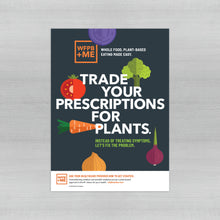 Load image into Gallery viewer, WFPB + ME - Prescription Poster