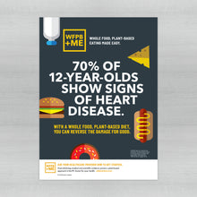 Load image into Gallery viewer, WFPB + ME - Pediatric Heart Disease Poster