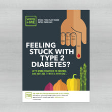 Load image into Gallery viewer, WFPB + ME - Diabetes Poster