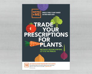 WFPB+ME Poster Series – Set of 5