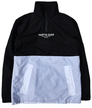 """LIGHTS OUT"" NYLON WINDBREAKER"