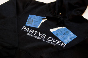 """SHOWROOM ACCESS"" HOODED PULLOVER"