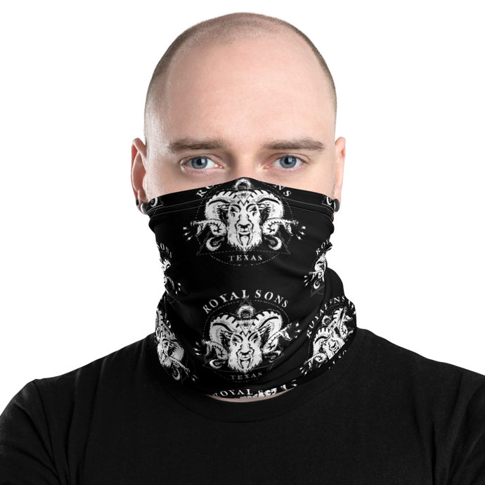 Royal Sons - Rattle Ram - White - Neck Gaiter