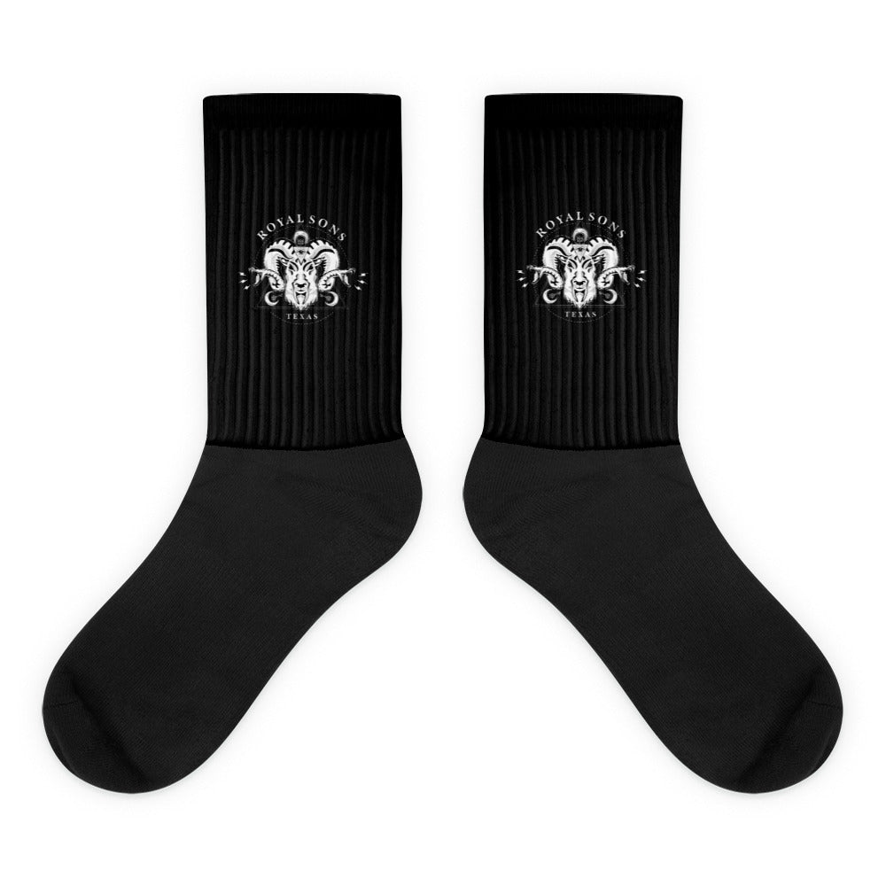 Royal Sons - Rattle Ram - White - Socks