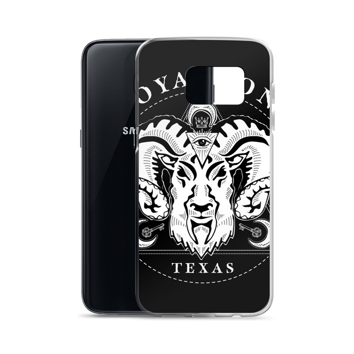 Royal Sons - Rattle Ram - Samsung Case - White