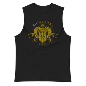 Royal Sons - Rattle Ram Muscle Shirt - Gold