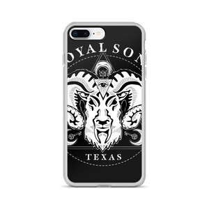 Royal Sons - Rattle Ram - iPhone Case - White