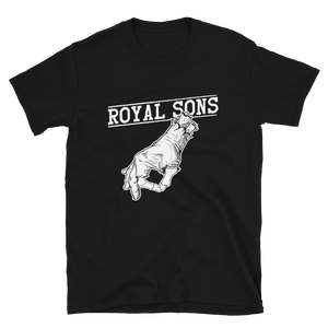 Royal Sons - Hand Logo White - Unisex Tee