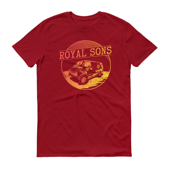 Royal Sons - Boogie Van Red - Unisex Tee