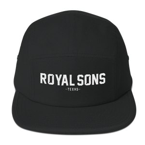 Royal Sons - Embroidered - 5 Panel Camper
