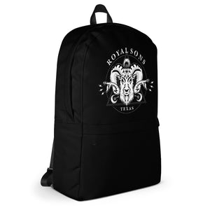 Royal Sons - Rattle Ram Backpack - White