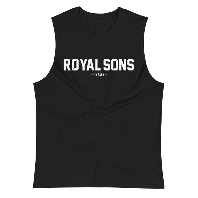 Royal Sons - Rattle Ram Muscle Shirt - White