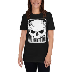 Short-Sleeve Unisex Loaded Moses Skull & Flower T-Shirt