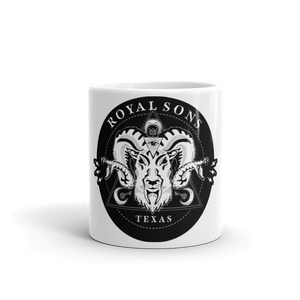 Royal Sons - Rattle Ram Mug - White