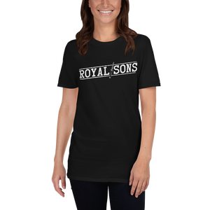 Royal Sons - Blade Logo White - Unisex Tee