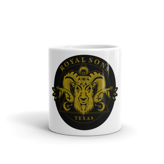 Royal Sons - Rattle Ram Mug - Gold