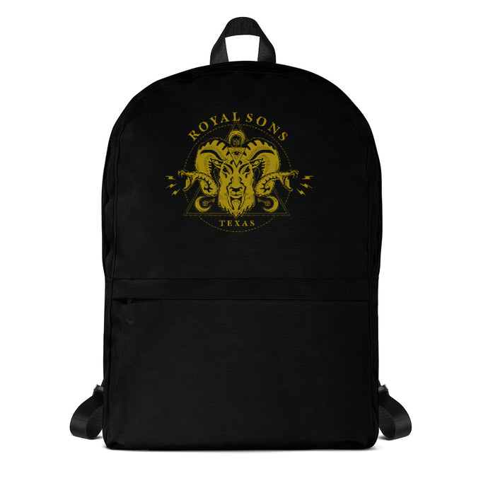 Royal Sons - Rattle Ram Backpack - Gold