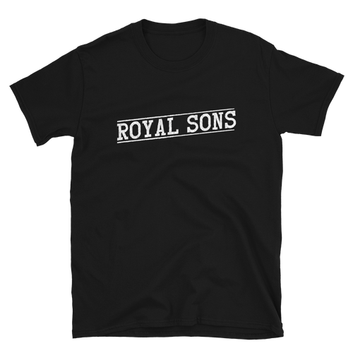 Royal Sons - Logo White - Unisex Tee