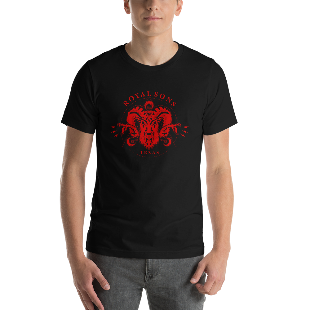 Royal Sons - Unisex - Rattle Ram Tee - Red