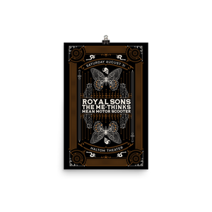 Royal Sons - Haltom Theater - Poster
