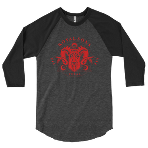 Royal Sons - 3/4 Sleeve Raglan - Red