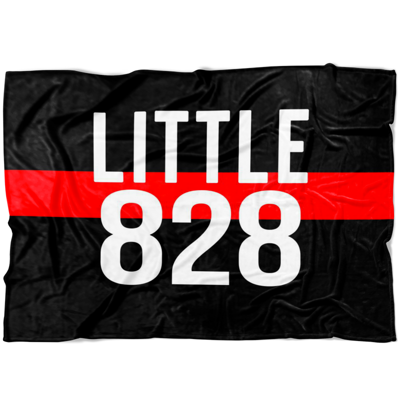 *CUSTOM* Little Badge Number TRL Fleece Blanket