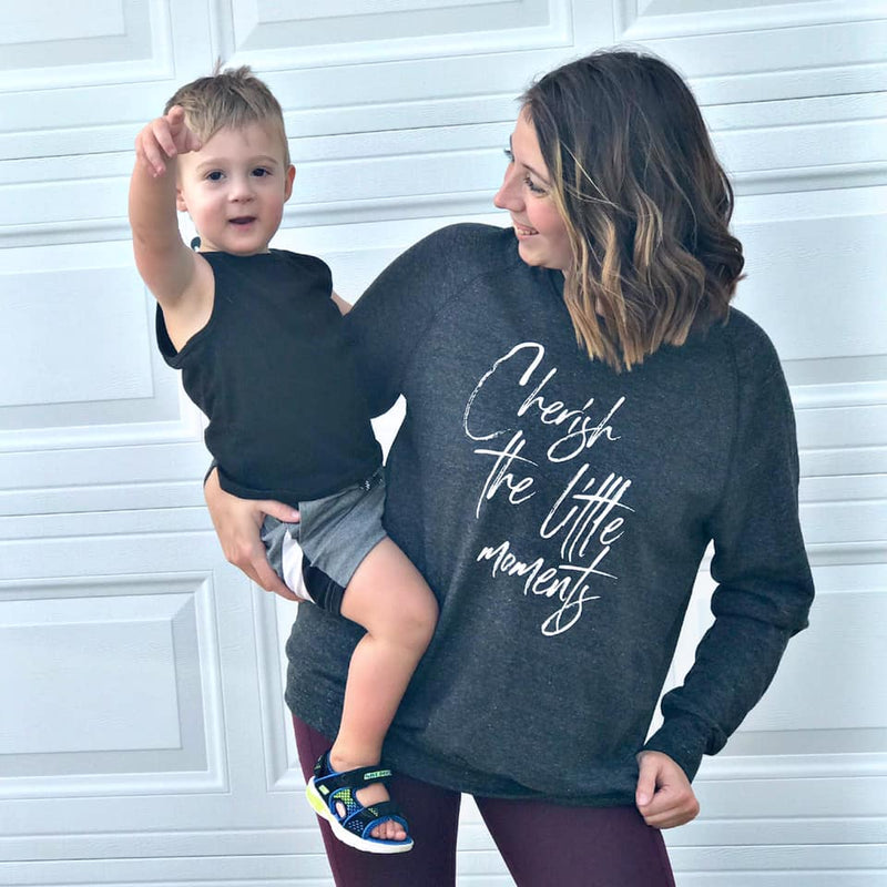 Cherish The Little Moments Crewneck Sweatshirt